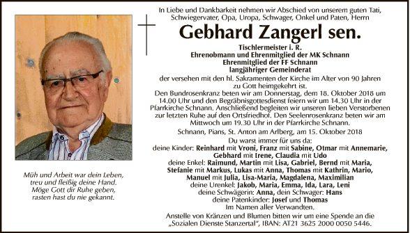 Gebhard Zangerl