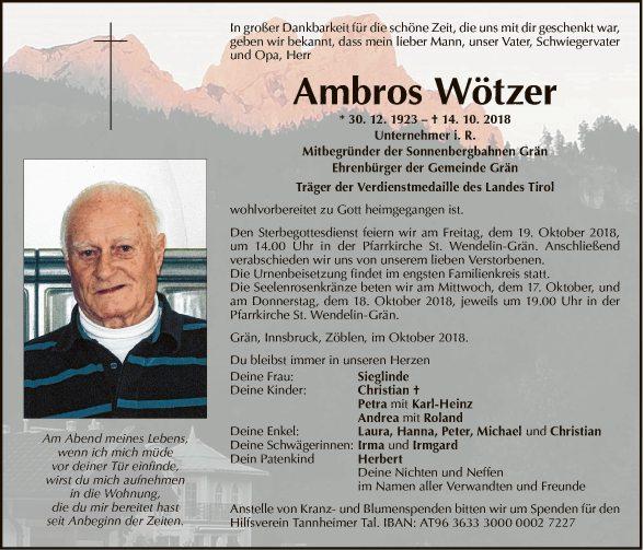 Ambros Wötzer