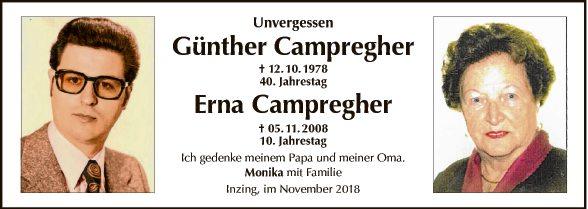 Günther und Erna Campregher