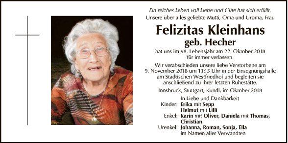 Felicitas Kleinhans