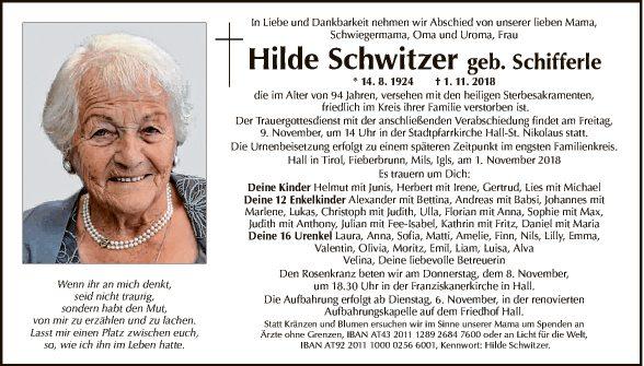 Hilde Schwitzer
