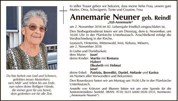 Annemarie Neuner