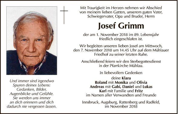Josef Grimm