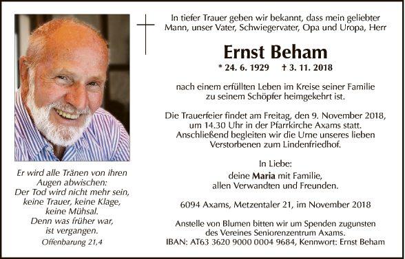 Ernst Beham