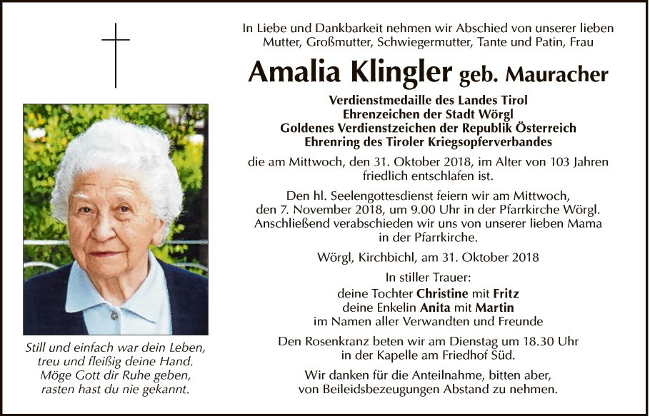 Amalia Klingler