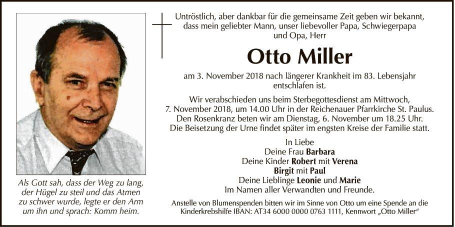 Otto Miller