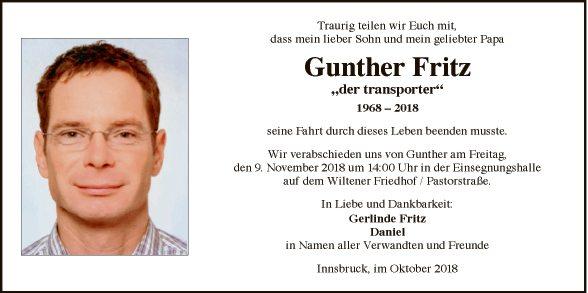 Gunther Fritz