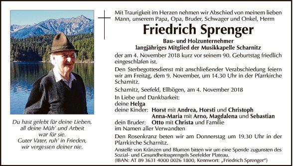 Friedrich Sprenger