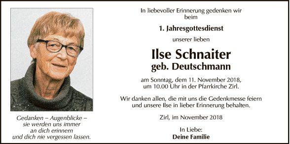 Ilse Schnaiter