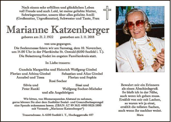 Marianne Katzenberger