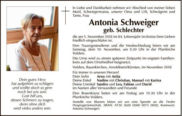 Antonia Schweiger