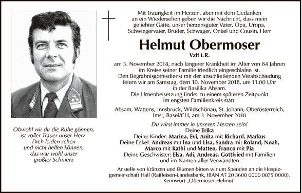Helmut Obermoser