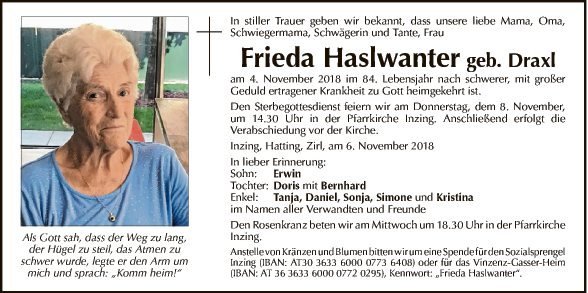Frieda Haslwanter