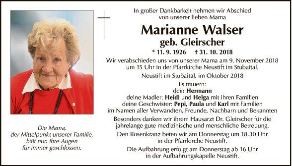 Marianne Walser