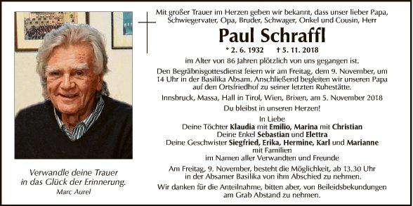 Paul Schraffl