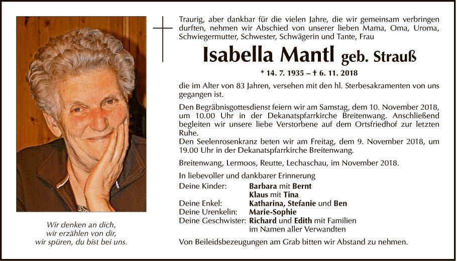 Isabella Mantl
