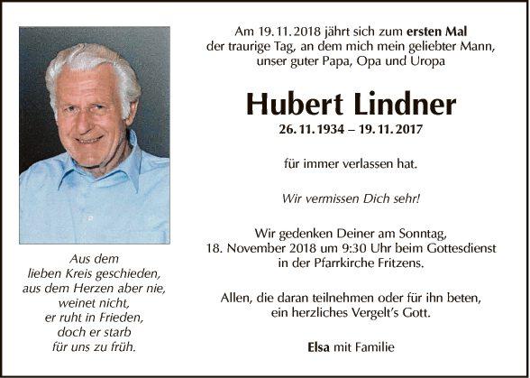 Hubert Lindner