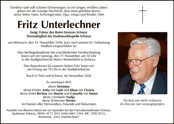 Fritz Unterlechner