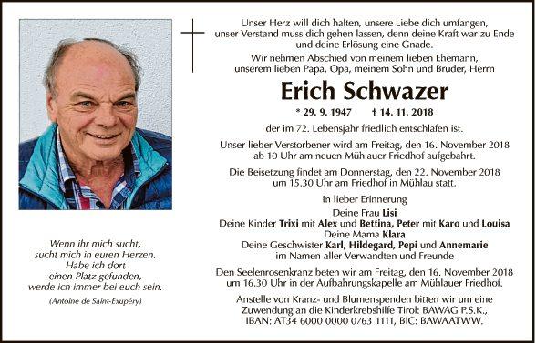 Erich Schwazer