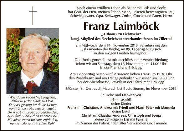 Franz Laimböck