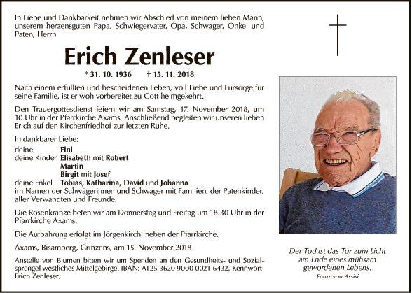 Erich Zenleser