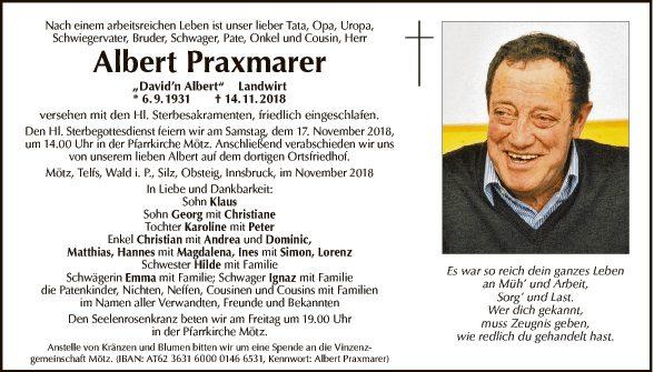 Albert Praxmarer