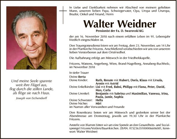 Walter Weidner