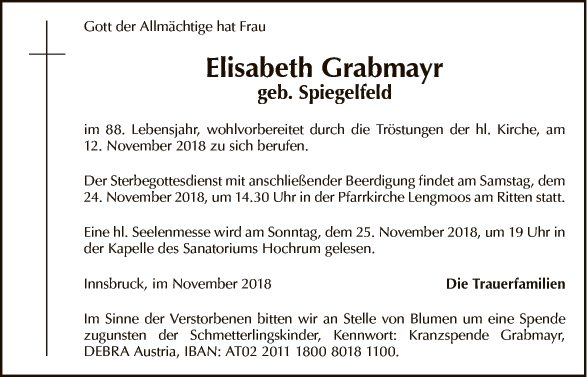 Elisabeth Grabmayr
