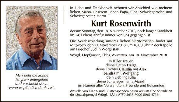 Kurt Rosenwirth