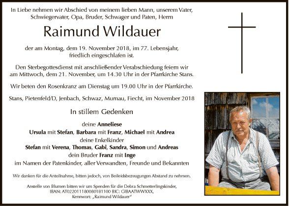 Raimund Wildauer