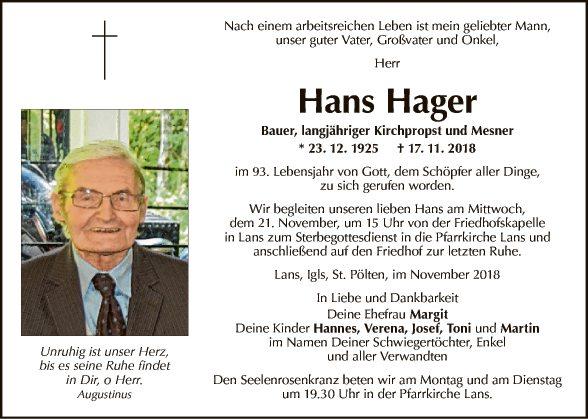 Hans Hager