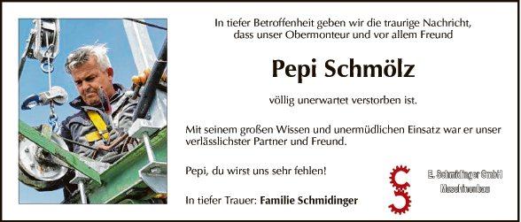 Pepi Schmölz