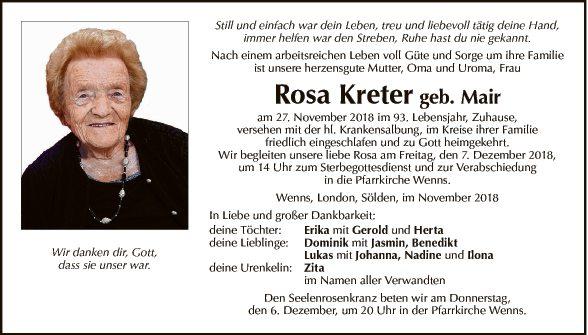 Rosa Kreter
