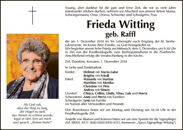 Frieda Witting