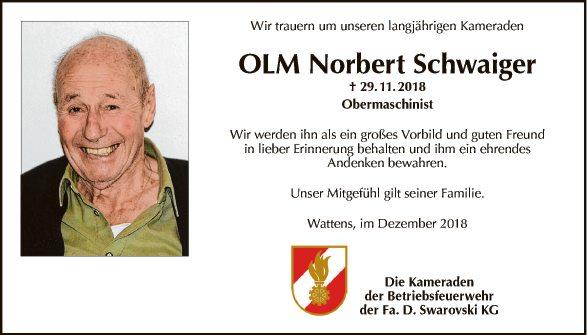 Norbert Schwaiger