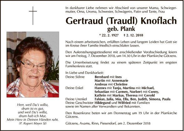 Gertraud Knoflach