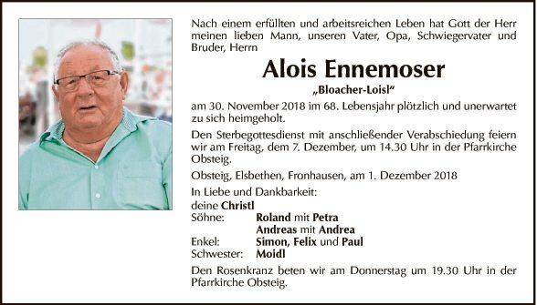 Alois Ennemoser