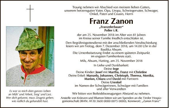 Franz Zanon