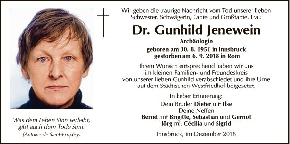 Dr. Gunhild Jenewein