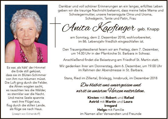 Anita Kapfinger