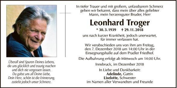 Leonhard Troger