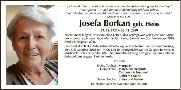 Josefa Borkan