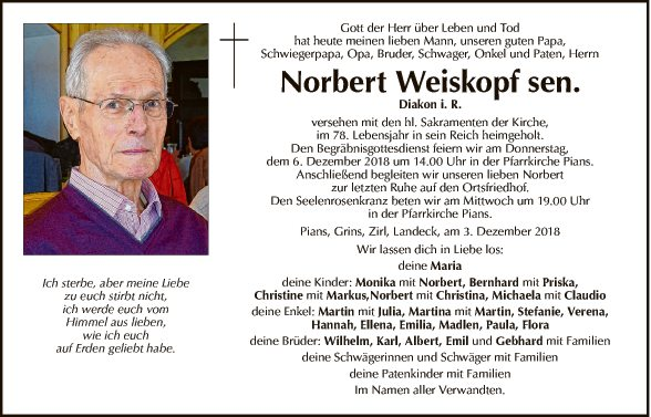 Norbert Weiskopf sen.
