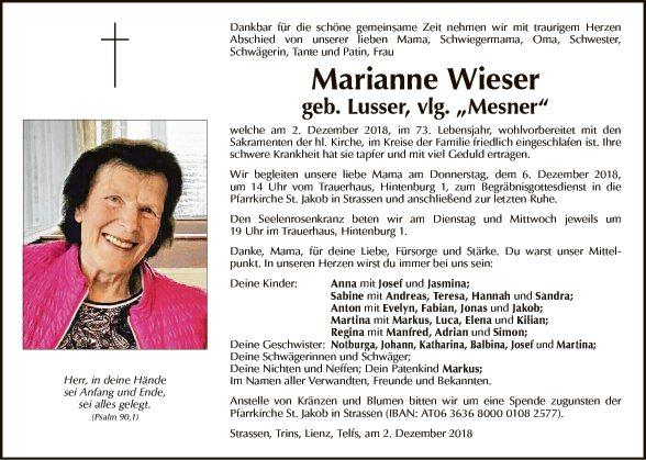Marianne Wieser