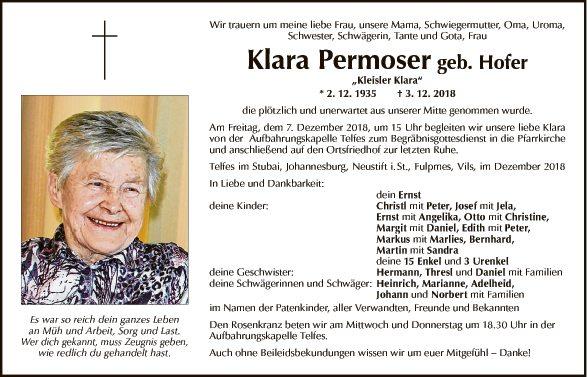 Klara Permoser