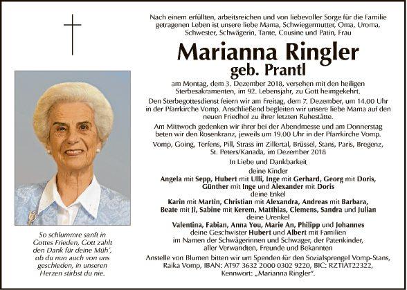Marianna Ringler