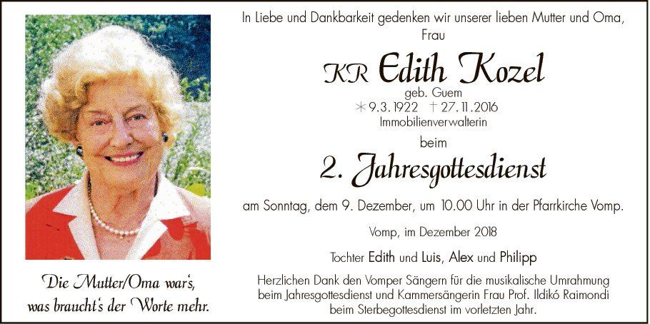 Edith Kozel