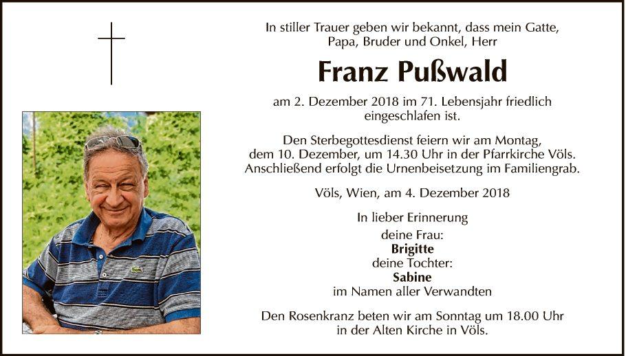 Franz Pußwald