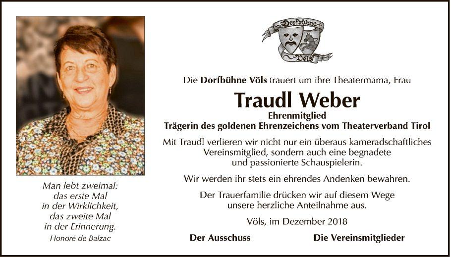 Traudl Weber