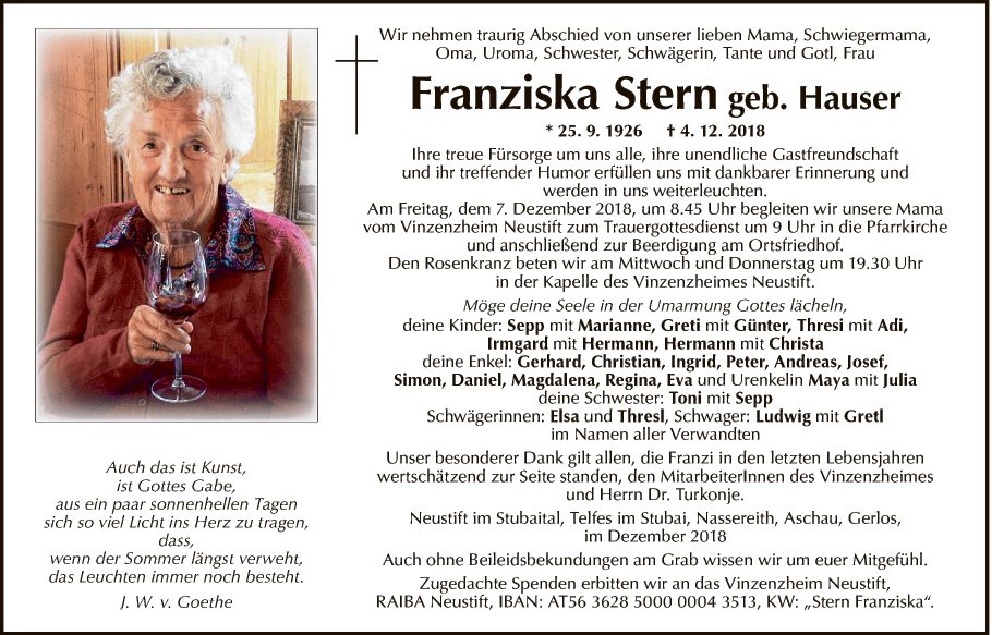 Franziska Stern